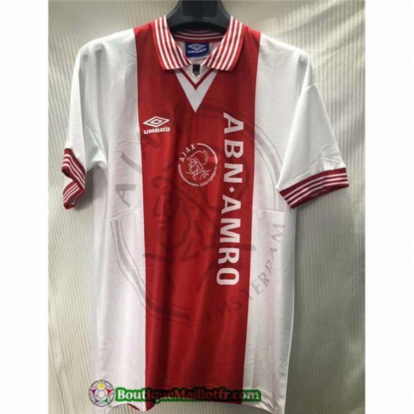 Maillot Ajax Retro 1995 Domicile
