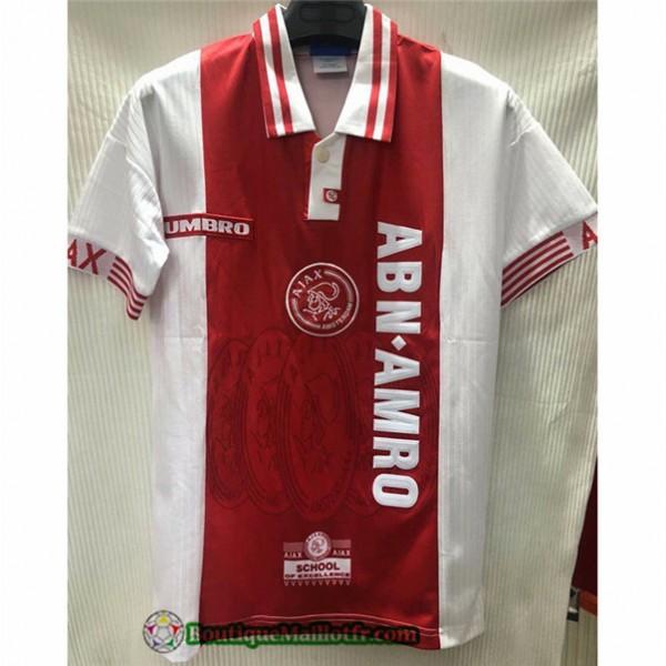 Maillot Ajax Retro 1997 98 Domicile