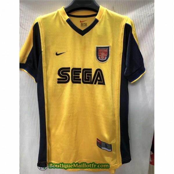 Maillot Arsenal Retro 1999 00 Exterieur