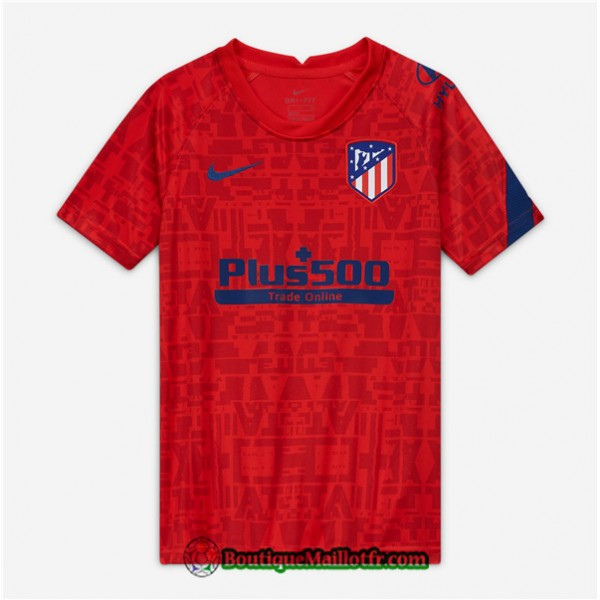 Maillot Atletico Madrid 2020 2021 Pre Match Rouge