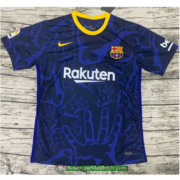Maillot Barcelone 2020 2021 Training Bleu