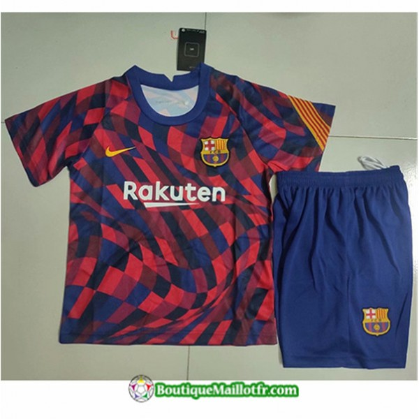 Maillot Barcelone Enfant 2020 2021 Training Rouge