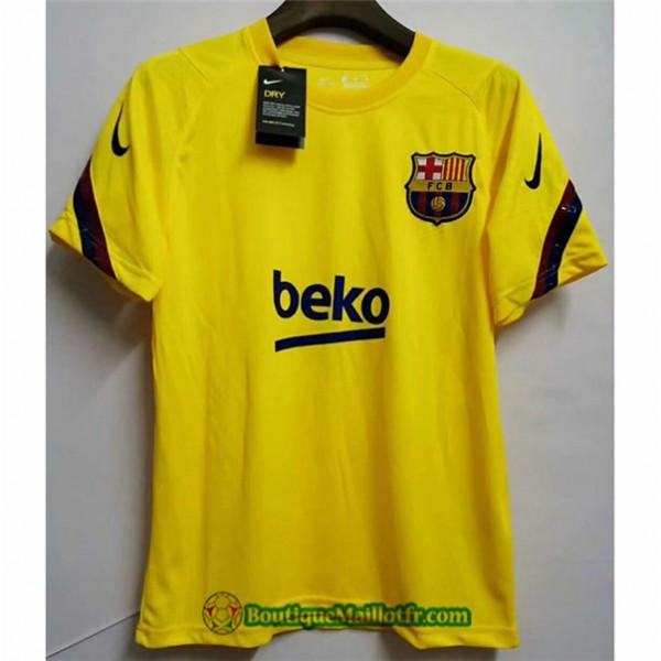 Maillot Barcelone Jaune 2020 2021