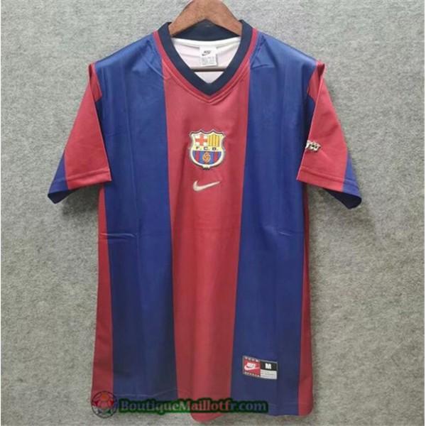 Maillot Barcelone Retro 1998 99 Domicile