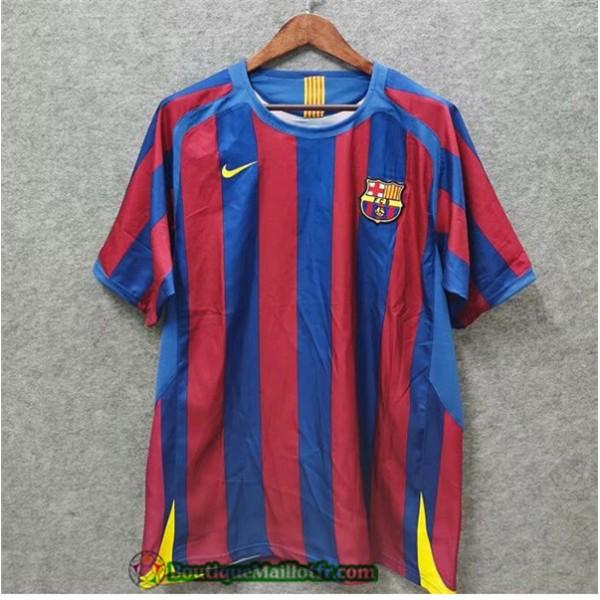 Maillot Barcelone Retro 2005 06 Domicile