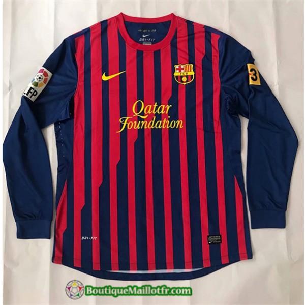 Maillot Barcelone Retro 2011 2012 Domicile Manche ...