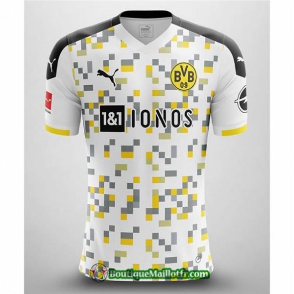 Maillot Borussia Dortmund 2020 2021 Exterieur