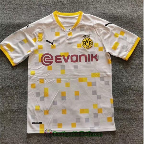 Maillot Borussia Dortmund Blanc/jaune 2020 2021