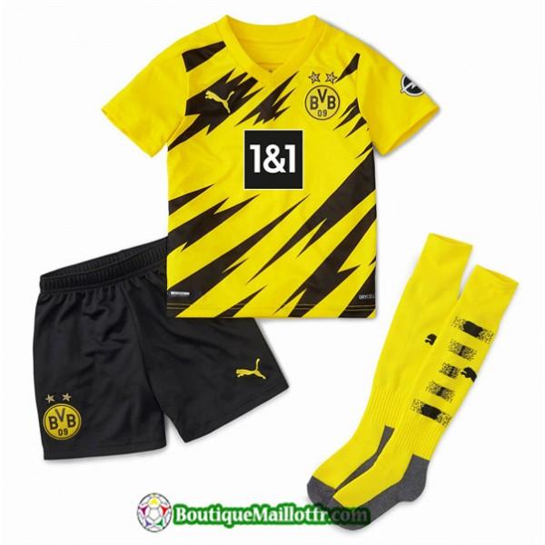 Maillot Borussia Dortmund Enfant 2020 2021 Domicil...