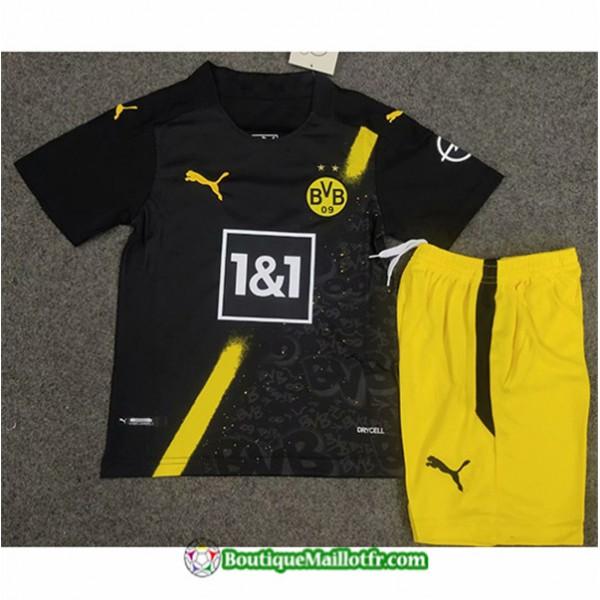 Maillot Borussia Dortmund Enfant 2020 2021 Exterie...