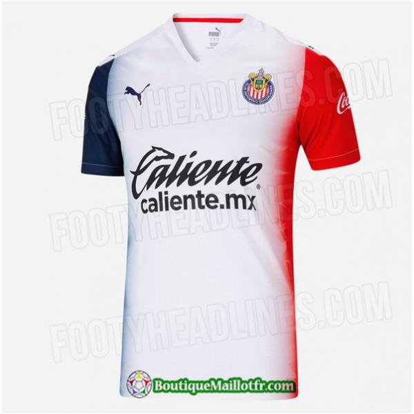 Maillot Chivas De Guadalajara 2020 2021 Exterieur