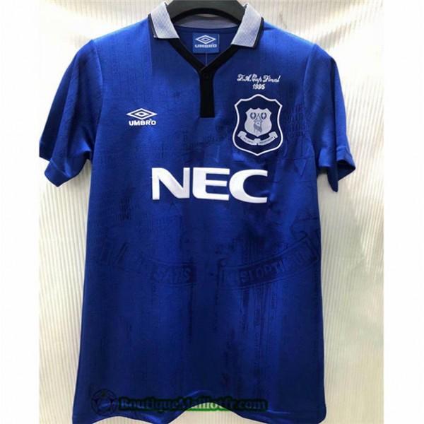Maillot Everton Retro 1994 95 Domicile