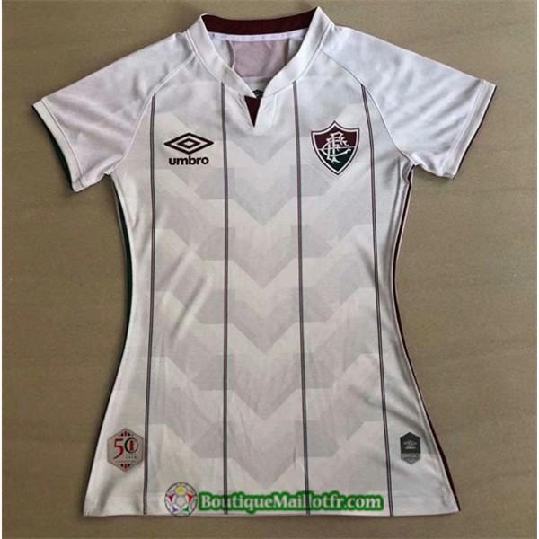 Maillot Fluminense Fc Femme 2020 2021 Exterieur