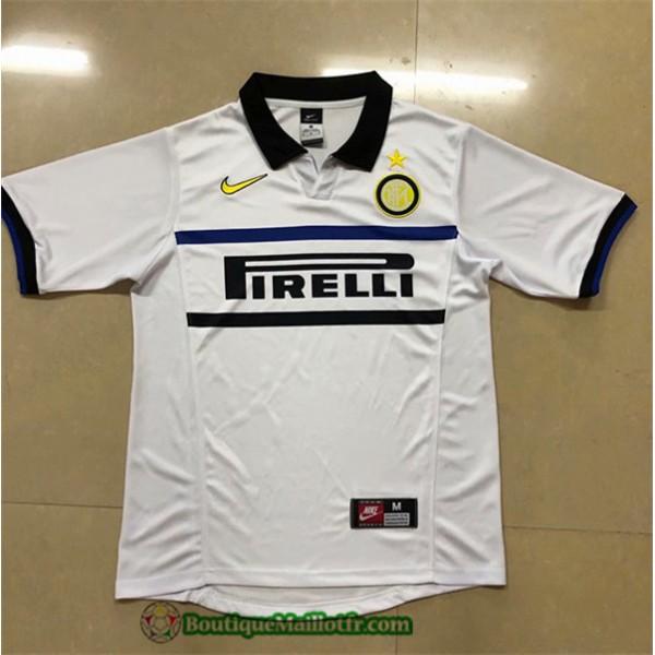 Maillot Inter Milan Retro 1998 99 Exterieur