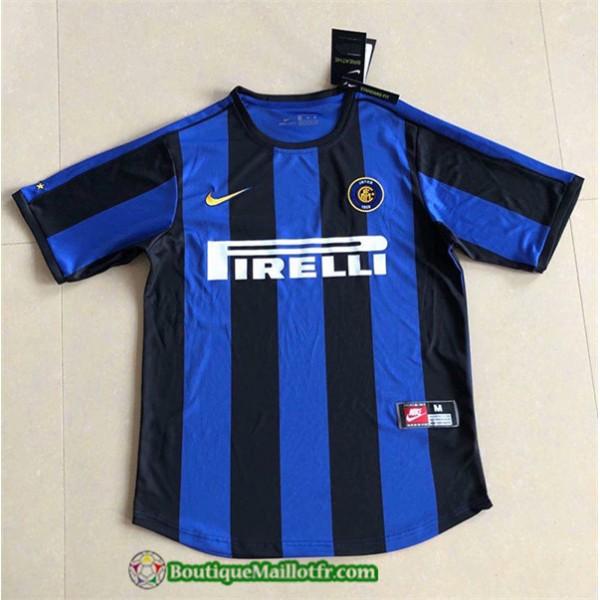 Maillot Inter Milan Retro 1999 00 Domicile