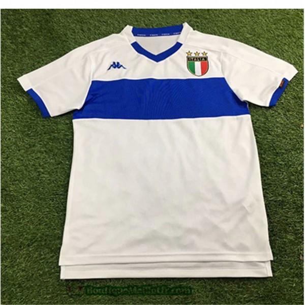 Maillot Italie Retro 1998 2000 Blanc