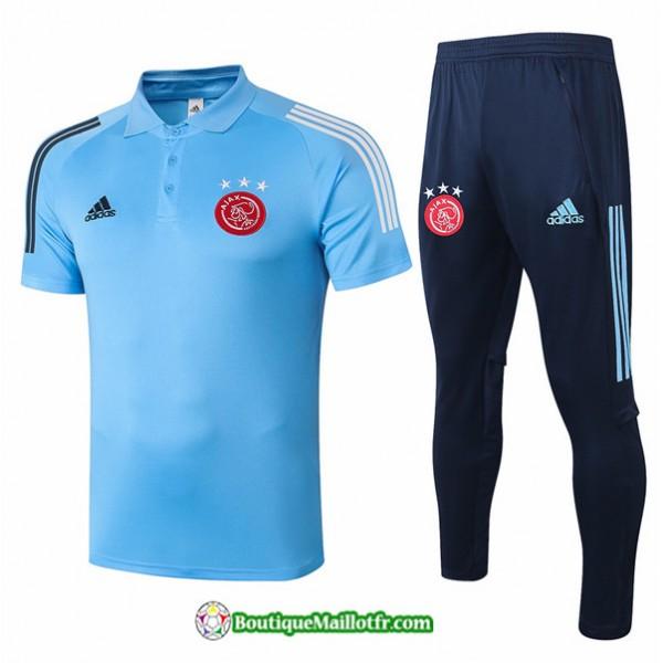 Maillot Kit Entraînement Afc Ajax 2020 2021 Polo ...