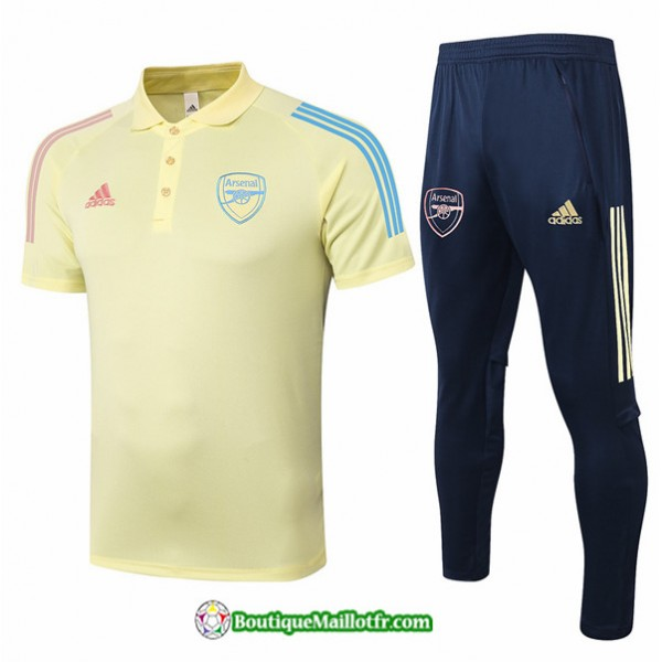 Maillot Kit Entraînement Arsenal 2020 2021 Polo T...