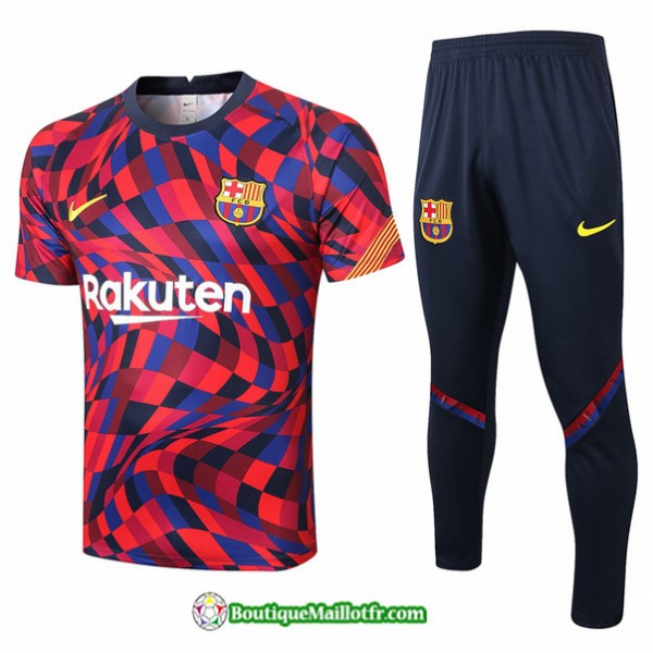 Maillot Kit Entraînement Barcelone 2020 2021 Trai...