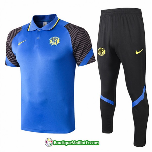 Maillot Kit Entraînement Inter Milan 2020 2021 Po...
