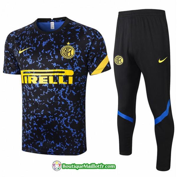 Maillot Kit Entraînement Inter Milan 2020 2021 Tr...