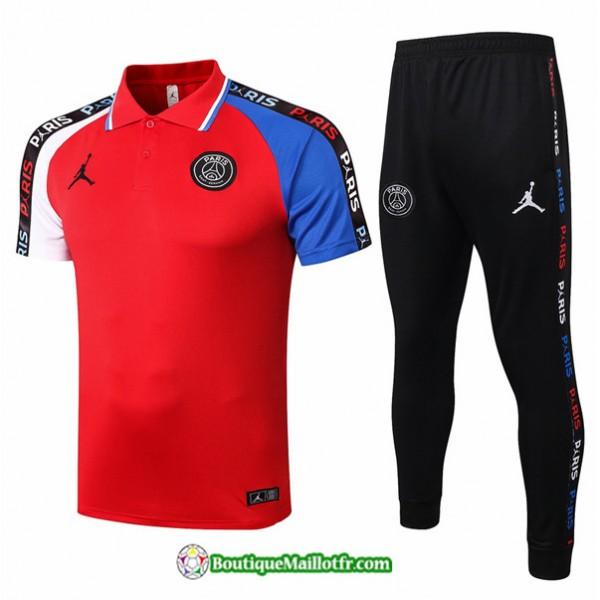 Maillot Kit Entraînement Jordan 2020 2021 Polo Tr...