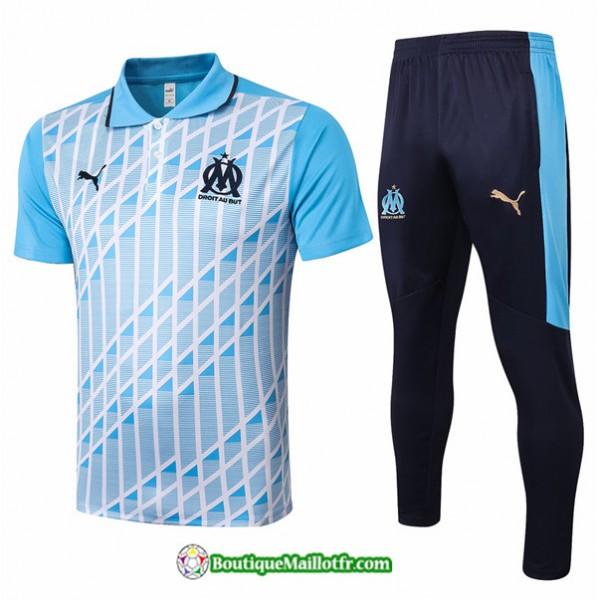 Maillot Kit Entraînement Marseille 2020 2021 Polo...