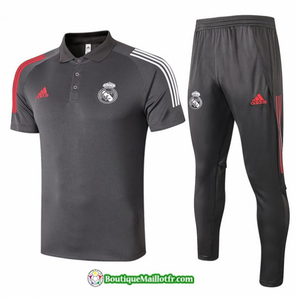 Maillot Kit Entraînement Real Madrid 2020 2021 Po...