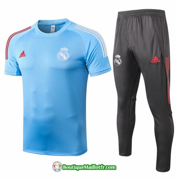 Maillot Kit Entraînement Real Madrid 2020 2021 Tr...