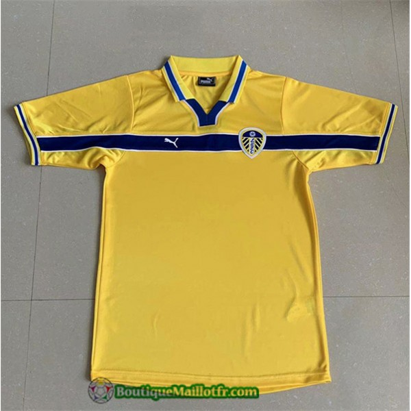 Maillot Leeds United Retro 1999 Third