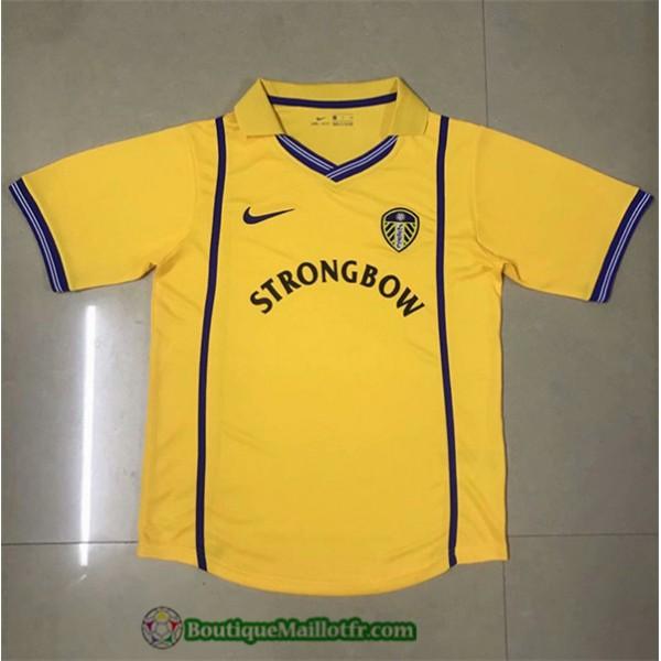 Maillot Leeds United Retro 2000 01 Exterieur