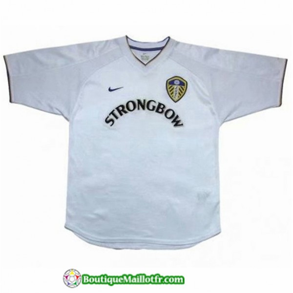 Maillot Leeds United Retro 2000 2001 Domicile