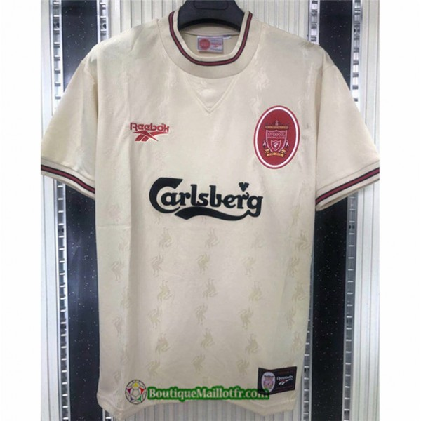Maillot Liverpool Retro 1996 97 Exterieur