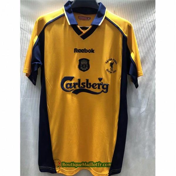 Maillot Liverpool Retro 2000 01 Exterieur