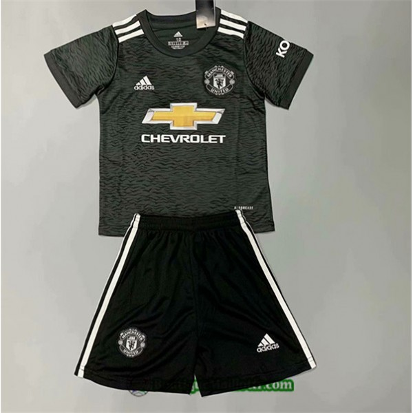 Maillot Manchester United Enfant 2020 2021 Exterie...