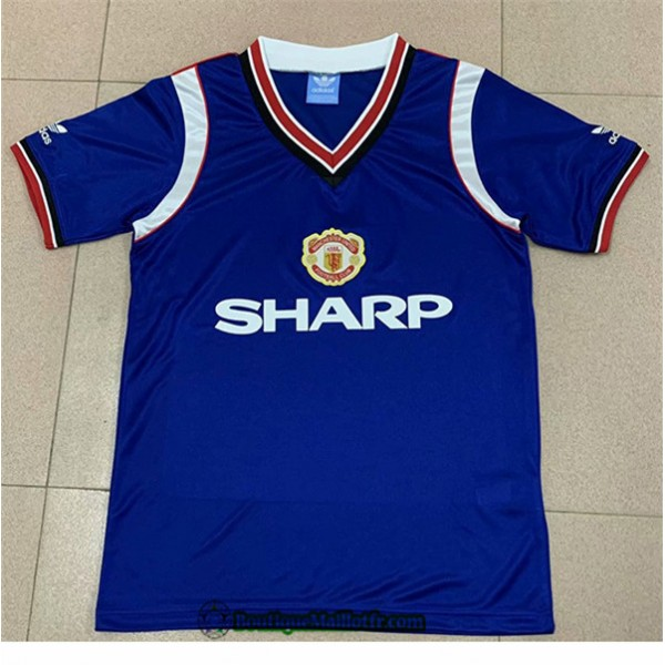 Maillot Manchester United Retro 1984 Third