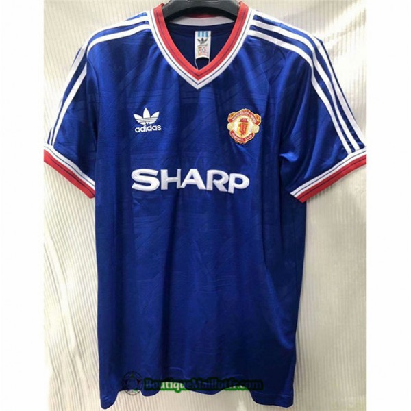 Maillot Manchester United Retro 1986 Third