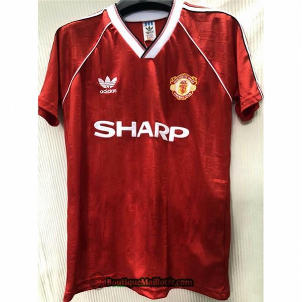 Maillot Manchester United Retro 1988 Domicile