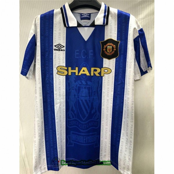 Maillot Manchester United Retro 1994 96 Exterieur