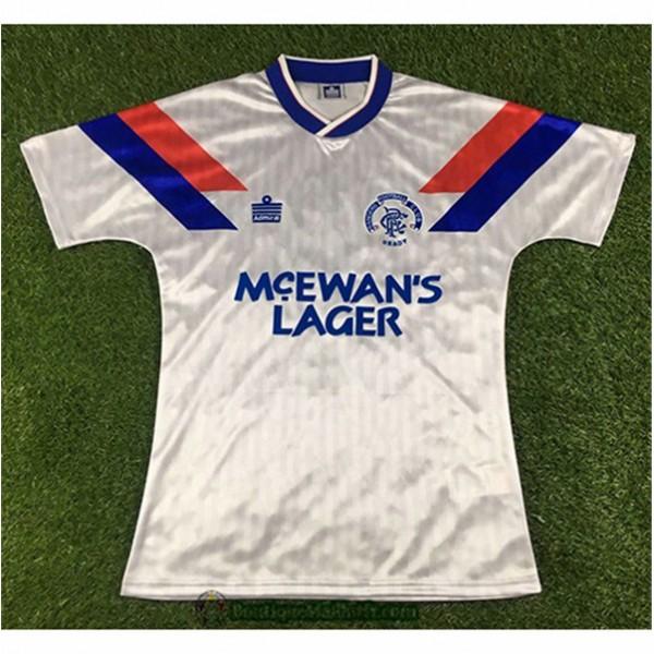 Maillot Rangers Retro 1990 92 Exterieur