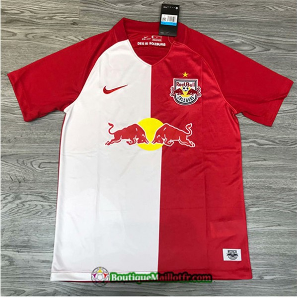 Maillot Rb Leipzig 2020 2021 Rouge/blanc