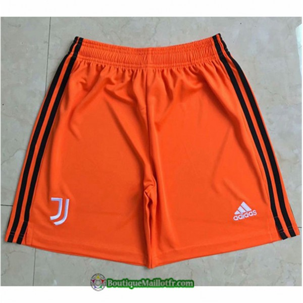 Maillot Short Juventus Orange 2020 2021