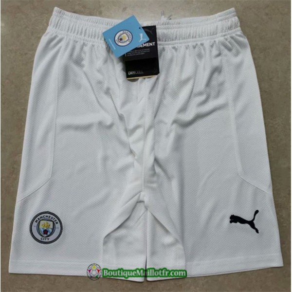 Maillot Short Manchester City 2020 2021 Domicile