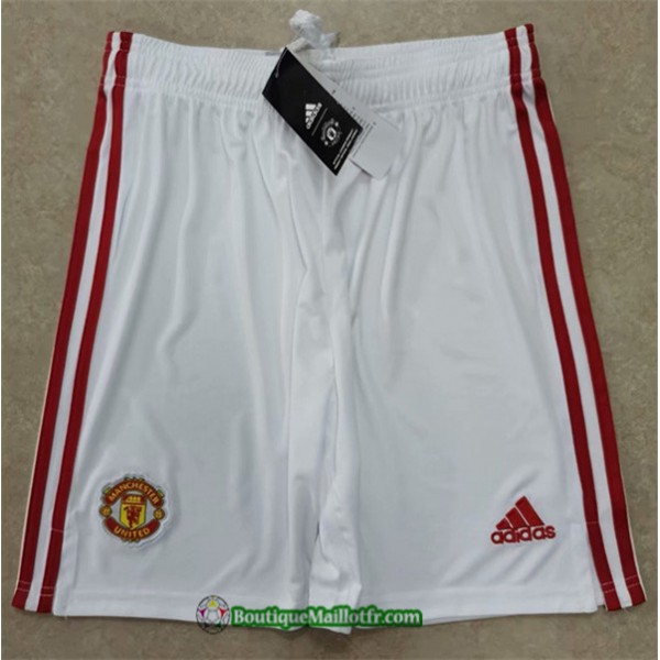 Maillot Short Manchester United 2020 2021 Domicile