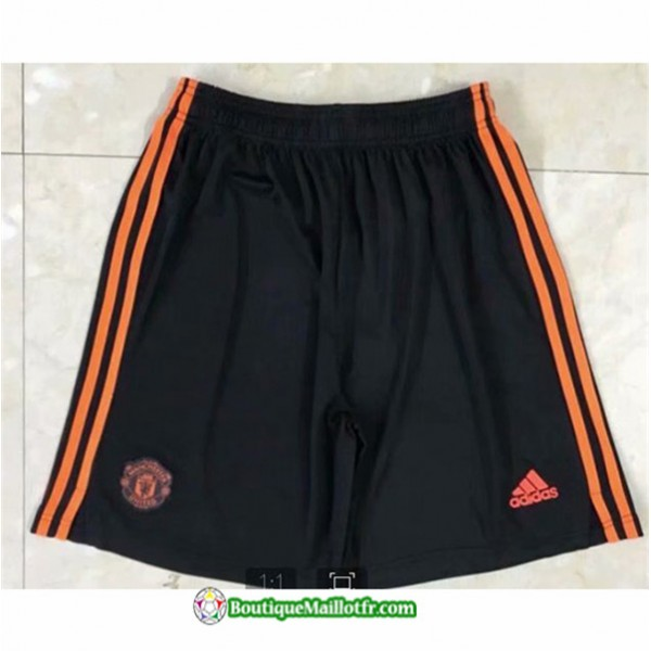 Maillot Short Manchester United 2020 2021 Orange