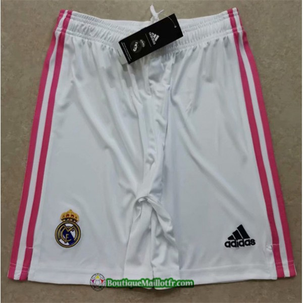 Maillot Short Real Madrid 2020 2021 Domicile