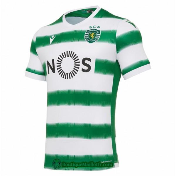 Maillot Sporting Lisbonne 2020 2021 Domicile
