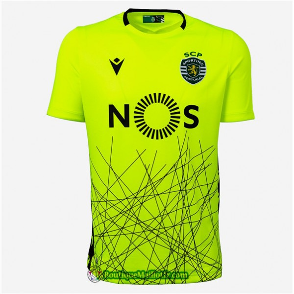 Maillot Sporting Lisbonne 2020 2021 Third