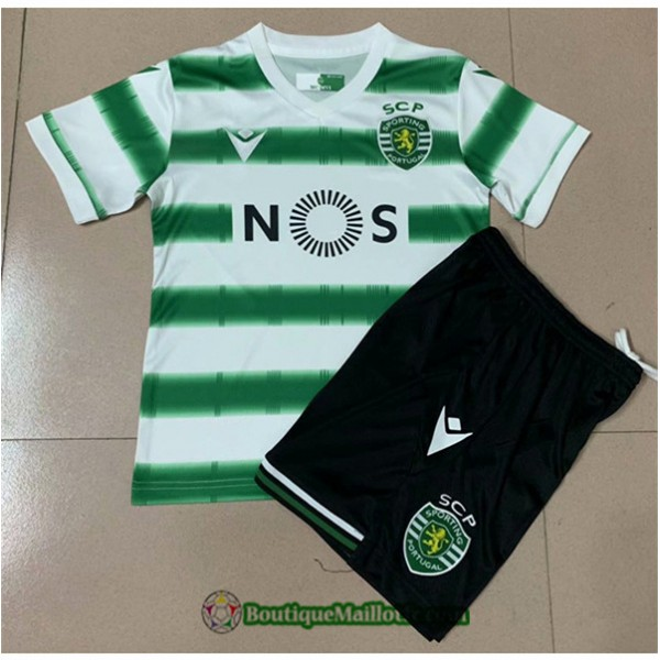 Maillot Sporting Lisbonne Enfant 2020 2021 Domicil...