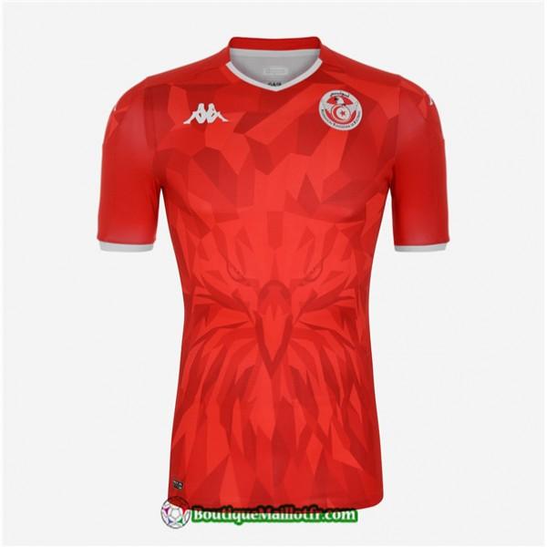 Maillot Tunisie 2020 2021 Exterieur Rouge